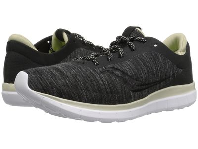 Saucony - Saucony Women Charcoal/Tan Liteform Escape Running Shoes