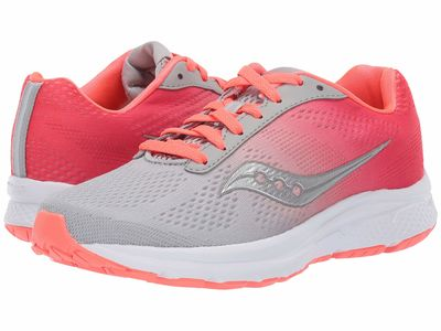 Saucony - Saucony Women Coral/Grey Nova Running Shoes