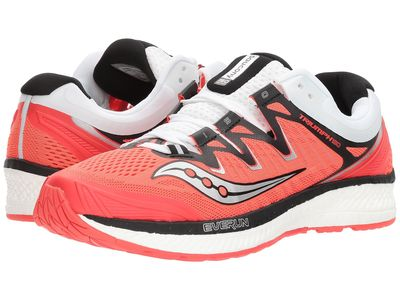 Saucony - Saucony Women Vizi Red/Black/White Triumph İso 4 Running Shoes