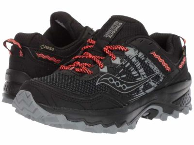 Saucony - Saucony Women's Black Excursion TR 12 GTX Running Shoes