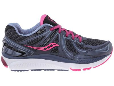 Saucony - Saucony Women's Grey/Pink/Berry Echelon 5 Sneakers Athletic Shoes 8530785558749