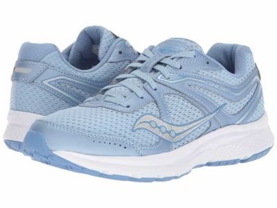 Saucony - Saucony Women's Grey/Purple Cohesion 11 Running Shoes