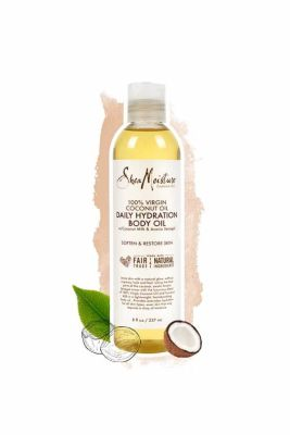 Shea Moisture - Shea Moisture 100 Virgin Coconut Oil Daily Hydration Body Oil 8 oz