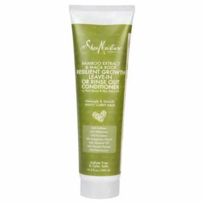 Shea Moisture - Shea Moisture Bamboo Extract and Maca Root Resilient Growth Conditioner 10.3 oz