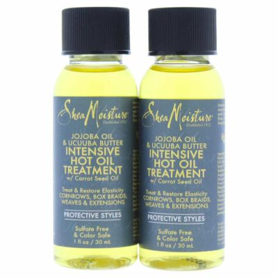 Shea Moisture - Shea Moisture Jojoba Oil and Ucuuba Butter Intensive Hot Oil Treatment 1 oz