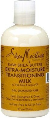 Shea Moisture - Shea Moisture Raw Shea Butter Extra-Moisture Transitioning Milk - Dry-Damage Hair 8 oz