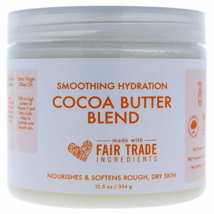 Shea Moisture Smoothing Hydration Cocoa Butter Blend 12.5 oz