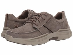 Skechers Men Beige Expended Bermo Lifestyle Sneakers - Thumbnail