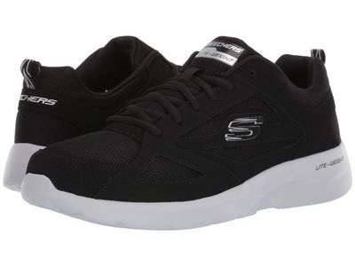 Skechers - Skechers Men Black Dynamight 2.0 Fallford Lifestyle Sneakers