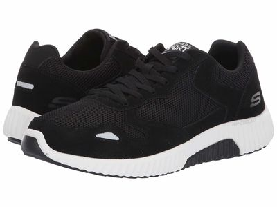 Skechers - Skechers Men Black/White Paxmen Lifestyle Sneakers