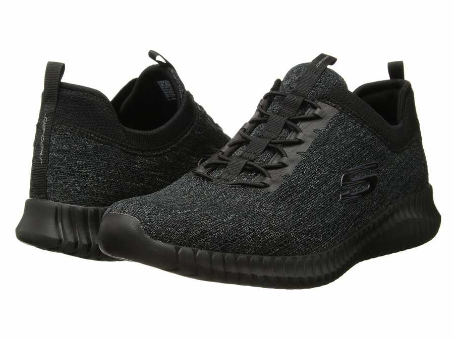 Dictado Adaptado Vaticinador  Skechers Men Black/Black Elite Flex Hartnell Lifestyle Sneakers - 724usa