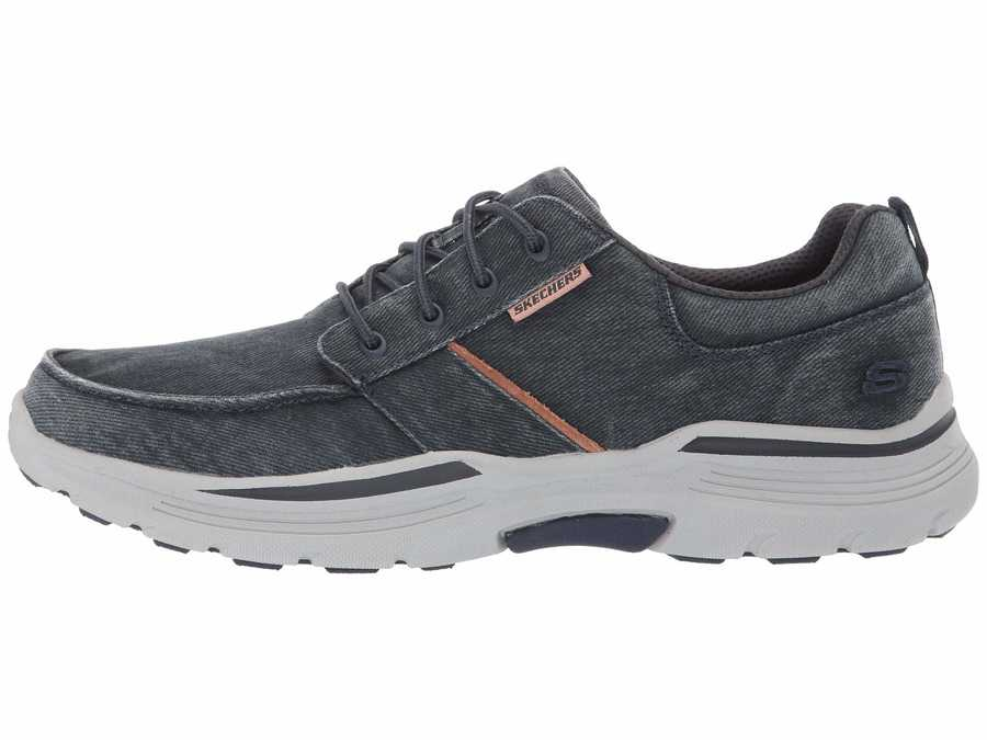 Skechers Men Blue Expended Bermo Lifestyle Sneakers