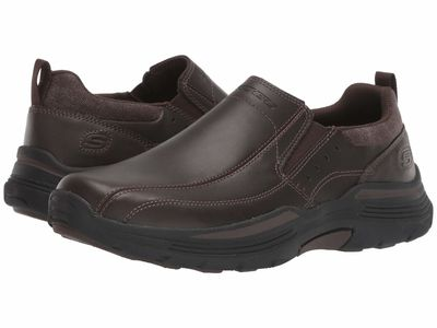 Skechers - Skechers Men Chocolate Relaxed Fit Expended - Venline Loafers