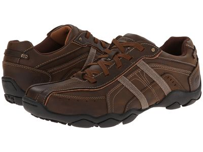 Skechers - Skechers Men Dark Brown Diameter 2 Lifestyle Sneakers