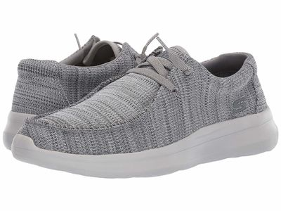 Skechers - Skechers Men Grey Delson 2.0 - Arego Lifestyle Sneakers
