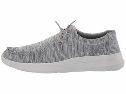 Skechers Men Grey Delson 2.0 - Arego Lifestyle Sneakers - Thumbnail