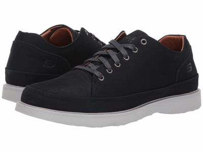 Skechers - Skechers Men Navy Solden Brant Lifestyle Sneakers