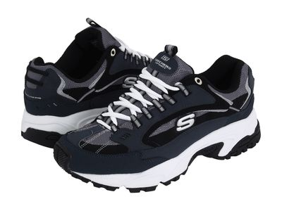 Skechers - Skechers Men Navy/Black Stamina - Nuovo Athletic Shoes
