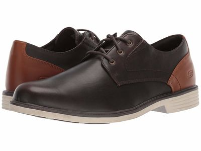Skechers - Skechers Men Red Brown Malto - Alsen Oxfords