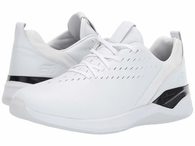 Skechers - Skechers Men White/Black Modena Valburn Lifestyle Sneakers
