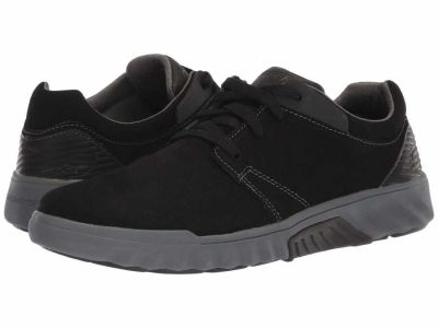 Skechers - SKECHERS Men's Black Charcoal Classic Fit Ryler - Cenelo Lifestyle Sneakers