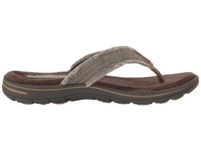 Skechers - SKECHERS Men's Chocolate Relaxed Fit: Evented - Arven Sandals 903082818