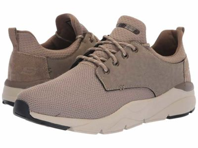 Skechers - SKECHERS Men's Taupe Relaxed Fit Recent - Sereno Lifestyle Sneakers