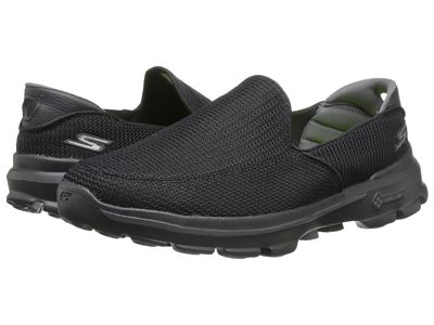 Skechers Performance - Skechers Performance Men Black Go Walk 3 Athletic Shoes