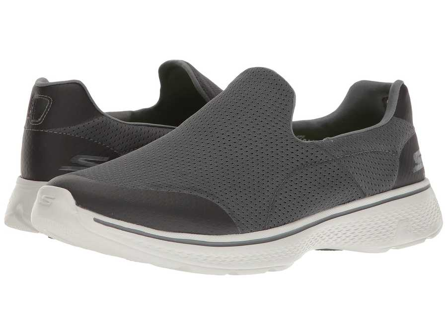 Skechers Performance Men Charcoal Go Walk 4 - İncredible Athletic Shoes