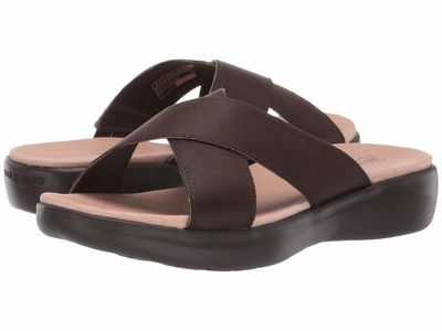 Skechers Performance - Skechers Performance Women Chocolate On-The-Go Luxe - Effortless Flat Sandals