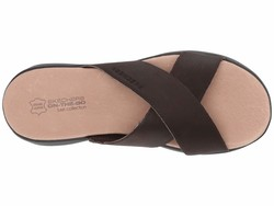Skechers Performance Women Chocolate On-The-Go Luxe - Effortless Flat Sandals - Thumbnail