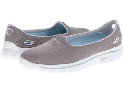 Skechers Performance - Skechers Performance Women Gray Gowalk 2 - Engineered Flats