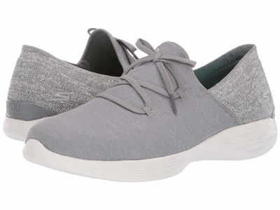 Skechers Performance Women Gray You Revere Lifestyle Sneakers