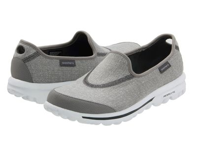 Skechers Performance - Skechers Performance Women Grey Gowalk Flats