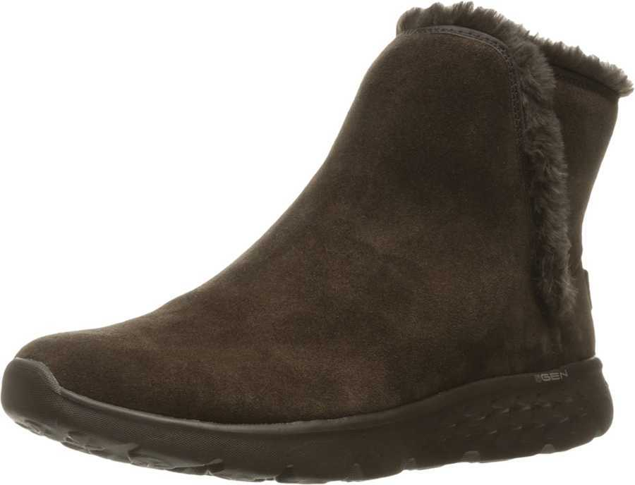 SKECHERS Performance Women's Chocolate On-The-Go 400 - Blaze Ankle Boots Booties 886463318