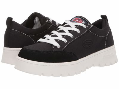 Skechers Street - Skechers Street Women Black Cleats - Lucky Street Lifestyle Sneakers