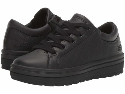 Skechers Street - Skechers Street Women Black Street Cleat - Freshest Lifestyle Sneakers