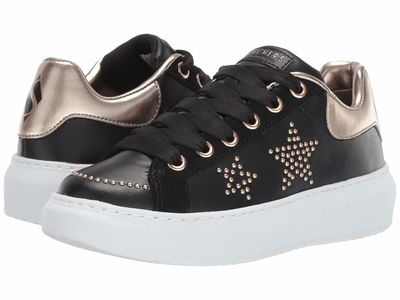 Skechers Street - Skechers Street Women Black/Gold High Street - Star Studded Lifestyle Sneakers