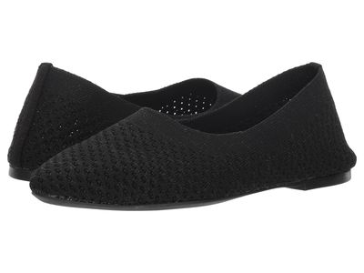 Skechers - Skechers Women Black Cleo - Star Daze Flats