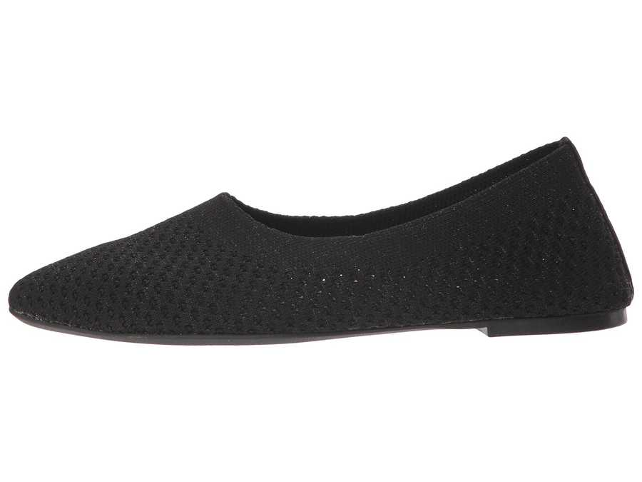 Skechers Women Black Cleo - Star Daze Flats