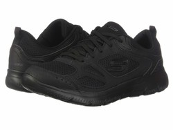 Skechers Women Black Summit - Suited Lifestyle Sneakers - Thumbnail