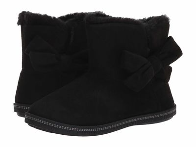 Skechers - Skechers Women Black/Black Cozy Campfire Ankle Bootsbooties