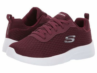 Skechers - Skechers Women Burgundy Dynamight 2.0 - Eye To Eye Lifestyle Sneakers