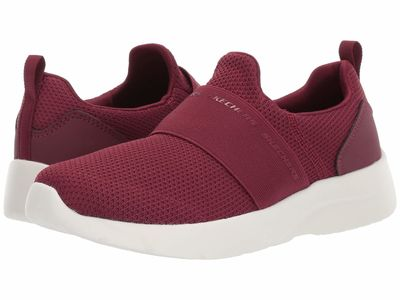 Skechers - Skechers Women Burgundy Dynamight 2.0 Lifestyle Sneakers