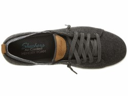 Skechers Women Charcoal Madison Ave Lifestyle Sneakers - Thumbnail