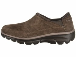 Skechers Women Chocolate Easy Going – Hive Lifestyle Sneakers - Thumbnail