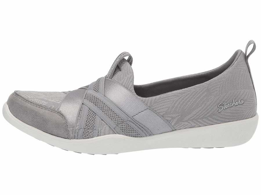 Skechers Women Gray Newbury Street - True Finds Lifestyle Sneakers