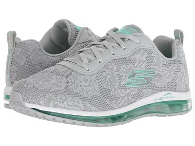 Skechers - Skechers Women Gray/Mint Skech Air Element Lifestyle Sneakers