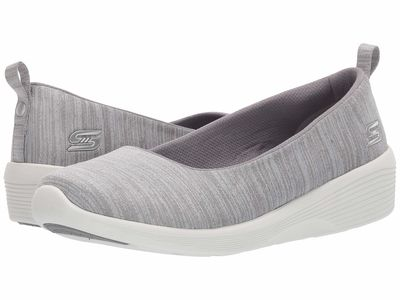 Skechers - Skechers Women Grey Arya - Different Edge Lifestyle Sneakers