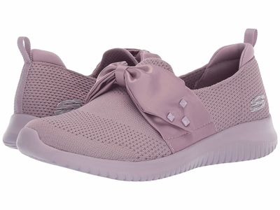 Skechers - Skechers Women Lavender Ultra Flex - Satin Night Lifestyle Sneakers